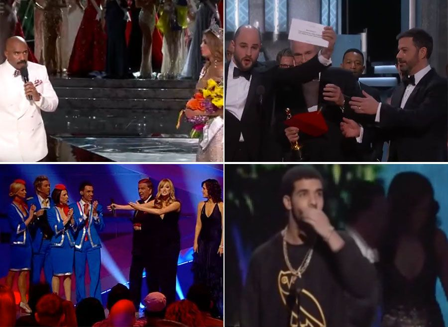 After The Oscars Best Picture Blunder, 9 More Times The Wrong Winner Was Announced On Live