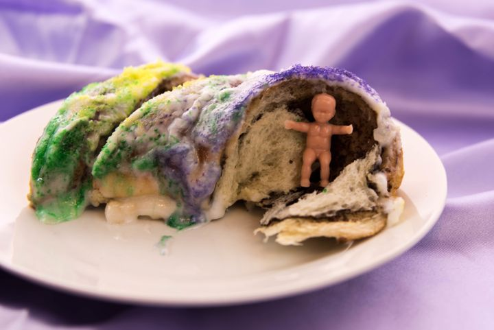 Heres Why Theres A Plastic Baby Jesus Hiding Inside Your King Cake Happy Mardi Gras