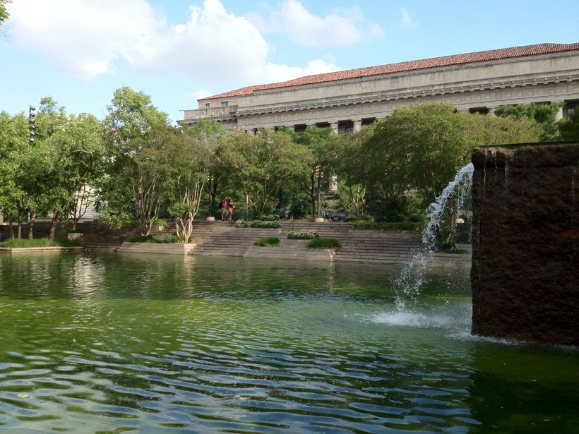 Pershing Park, 2012 - Photograph © The Cultural Landscape Foundation