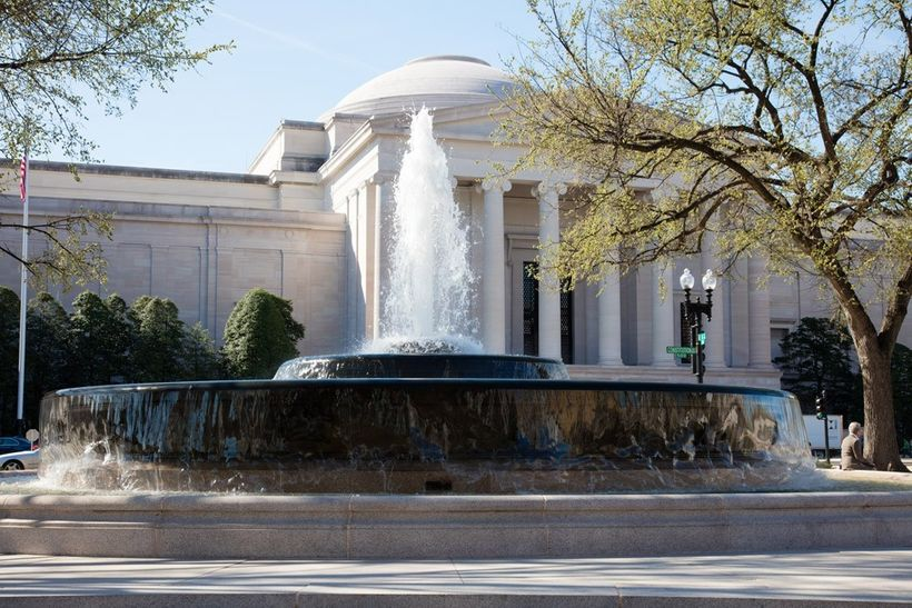 Andrew W. Mellon Memorial Fountain, 2016 - Photograph courtesy The National Gallery of Art.