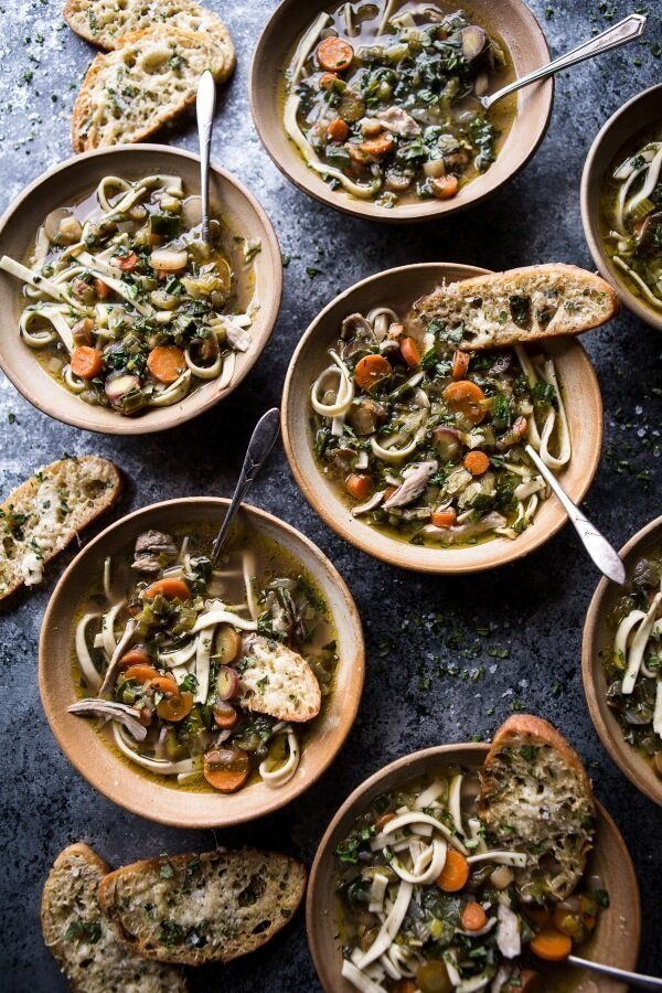 """<strong>Get the <a href=""""https://www.halfbakedharvest.com/winter-vegetable-chicken-noodle-soup-with-asiago-crostini/"""" target="""