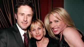 David Arquette, Patricia Arquette and Alexis Arquette in Hollywood, California (Photo by Paul Redmond/WireImage)