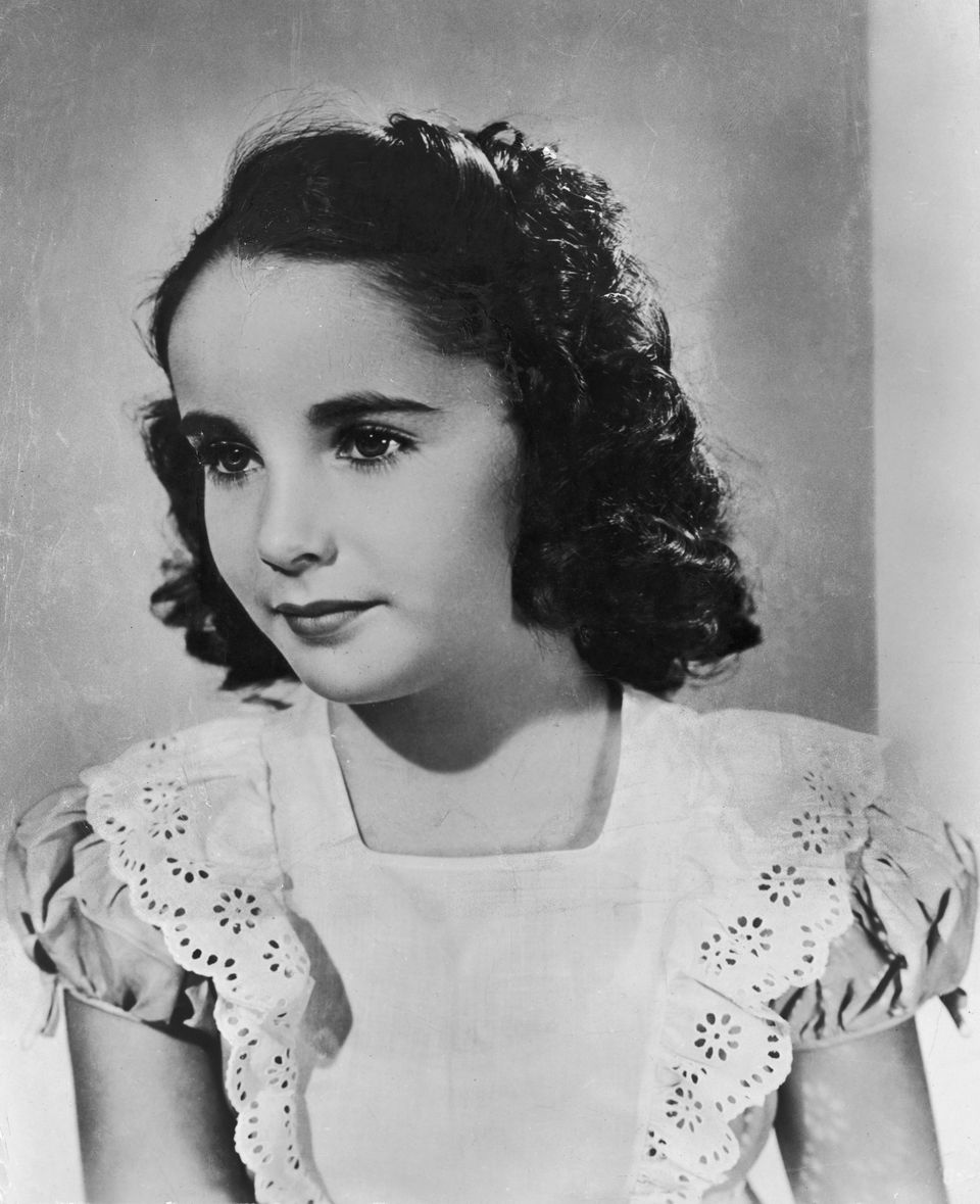 British-born child actor Elizabeth Taylor arrives in America at the age of seven, 1939.