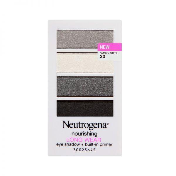 """<p><a rel=""""nofollow"""" href=""""https://www.walmart.com/ip/Neutrogena-Nourishing-Long-Wear-Eye-Shadow-Built-In-Primer-30-Smoky-Steel-0.24-oz/43172719"""" target=""""_blank"""">Nourishing Longwear Eye Shadow + Built-In Primer in Smoky Steel</a>, Neutrogena $9</p>"""