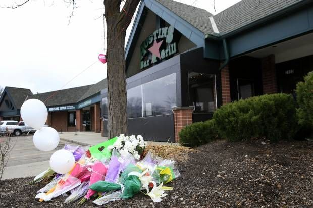 The exterior of the bar and grill where Indian American immigrant, Srinivas Kuchibhotla, 32, was shot (and later died) by a m