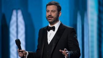 THE OSCARS(r) - The 89th Oscars(r)  broadcasts live on Oscar(r) SUNDAY, FEBRUARY 26, 2017, on the ABC Television Network. (Eddy Chen/ABC via Getty Images) JIMMY KIMMEL