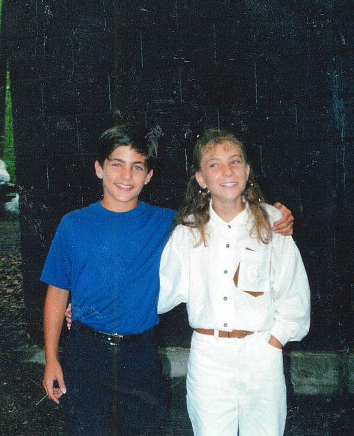 <p>Stephen and Wendy, age 11</p>
