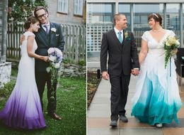 22 Ombre Wedding Dresses For Brides Who Want To Show Their True Colors