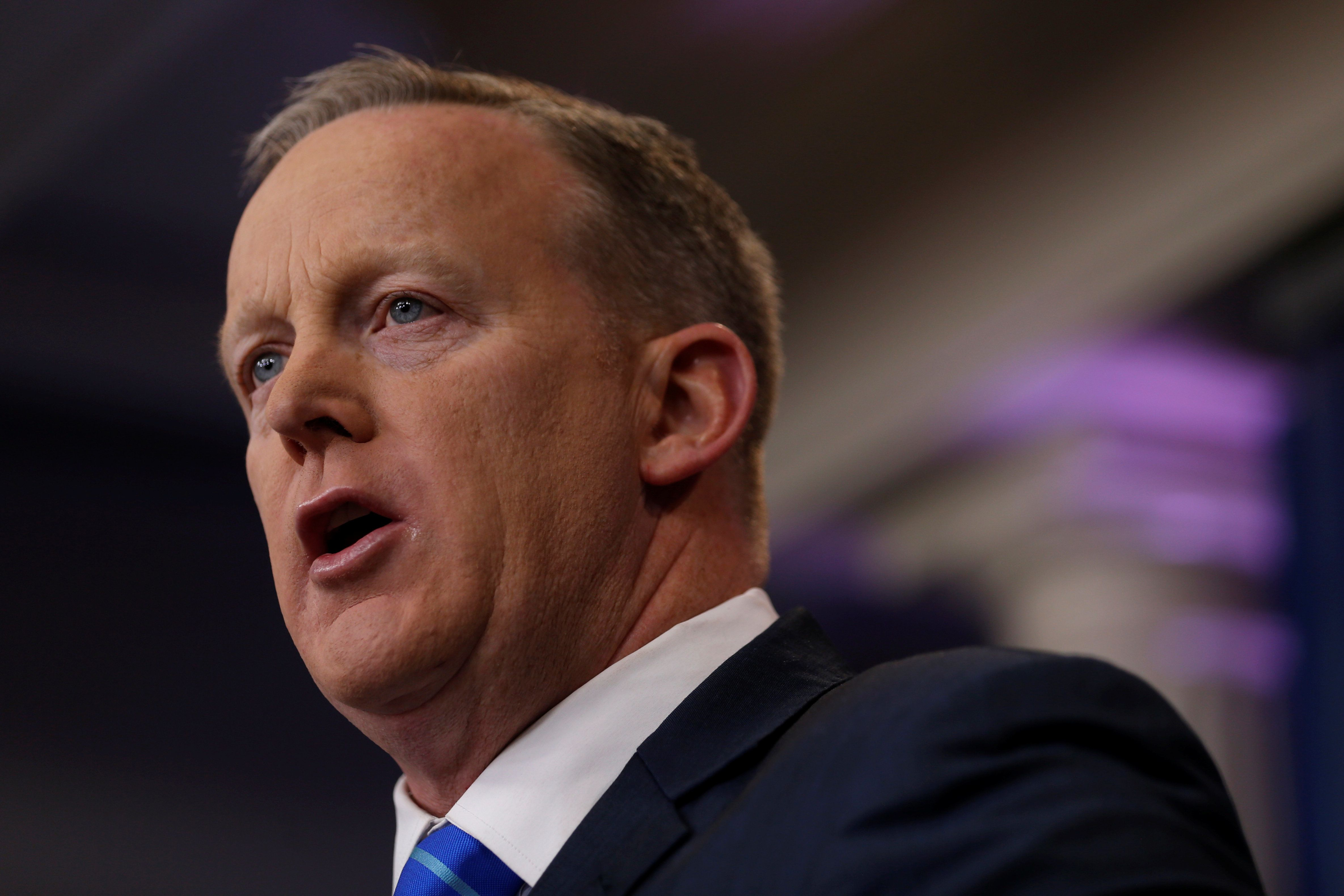 Sean Spicer: Portrait Of A Man On