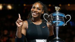 Serena Williams Strolls By A Park And Challenges Two Random Dudes To