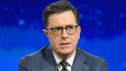 Stephen Colbert Happily Takes Trump's Challenge To 'Say It To My