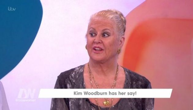 Kim Woodburn made an appearance on 'Loose