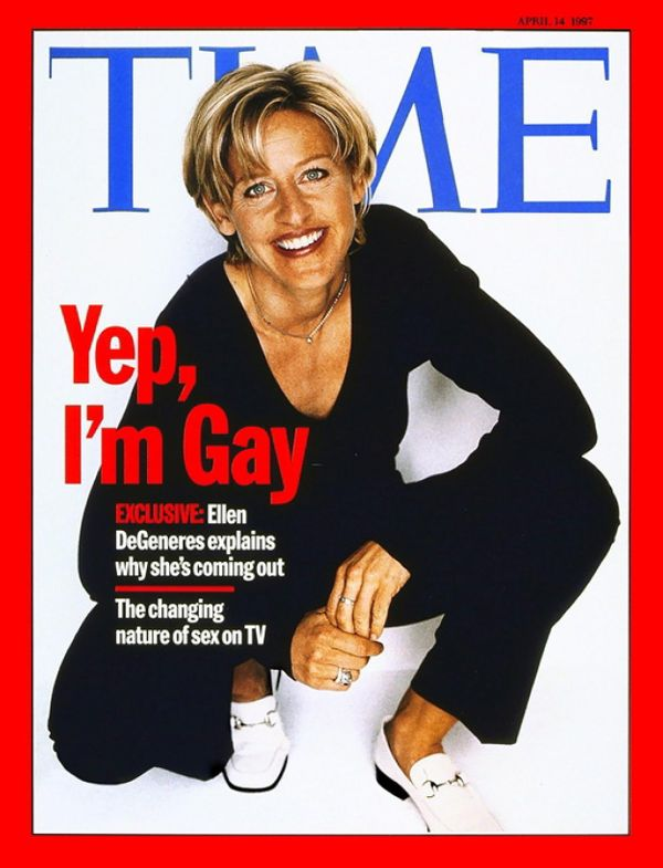 Ellen Degeneres publicly came out on the cover of Time Magazine in 1997, and since then, her career as a comedian and talk sh
