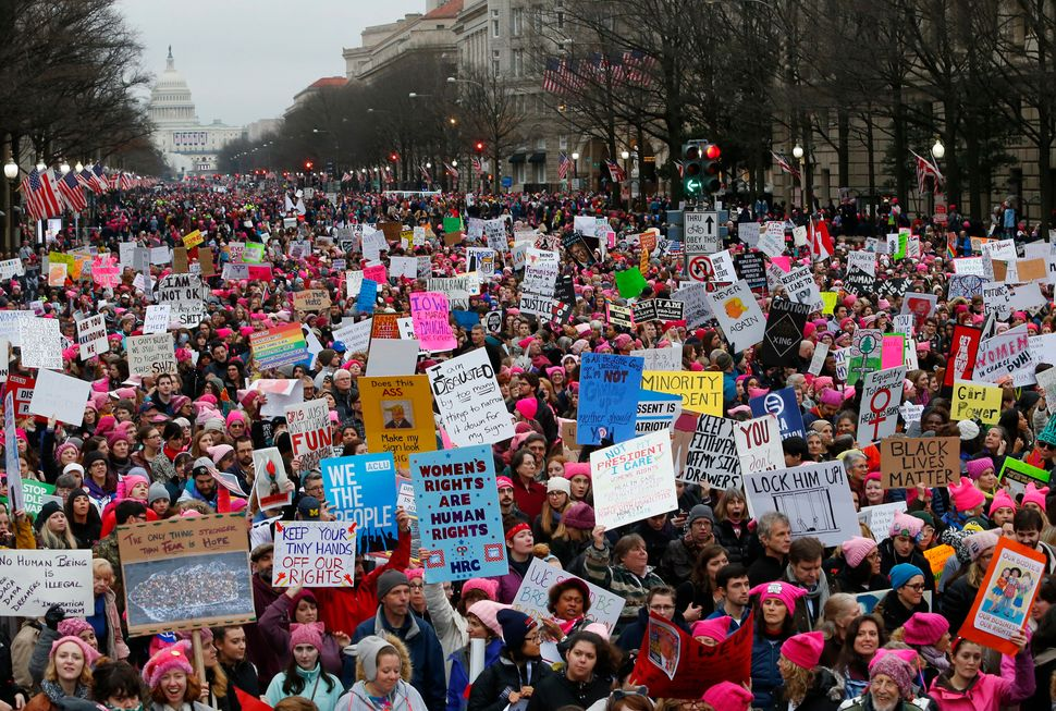 Image result for women's march on washington 2017