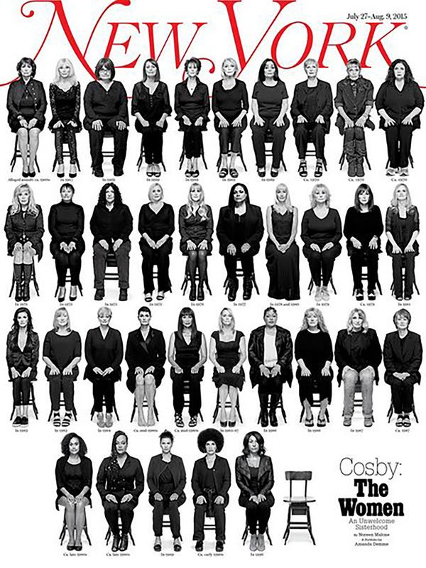 More than 30 women have accused American comedy icon Bill Cosby of sexual assault, and New York Magazine's powerful cove