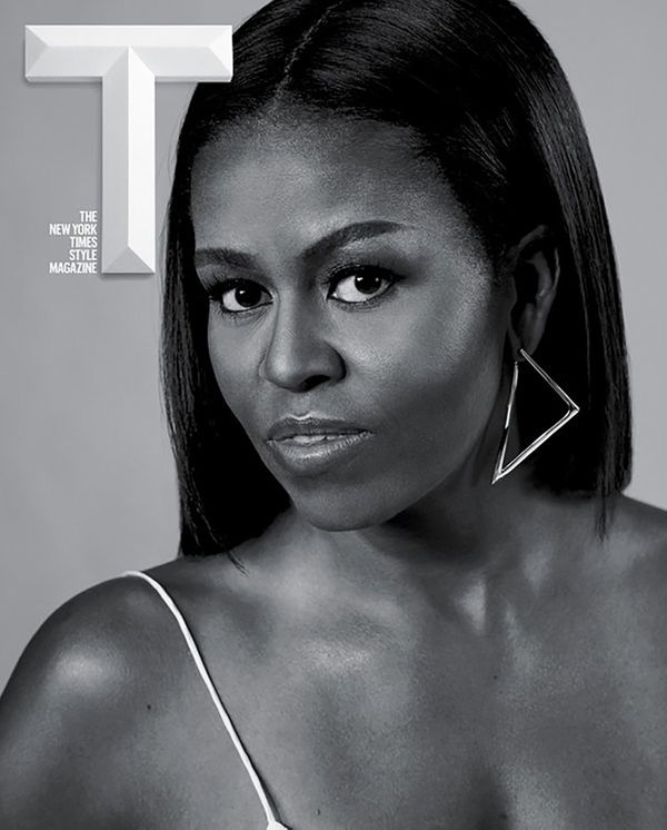 Former FLOTUS Michelle Obama has several stunning magazine covers, but when the Times Style Magazine was released in October