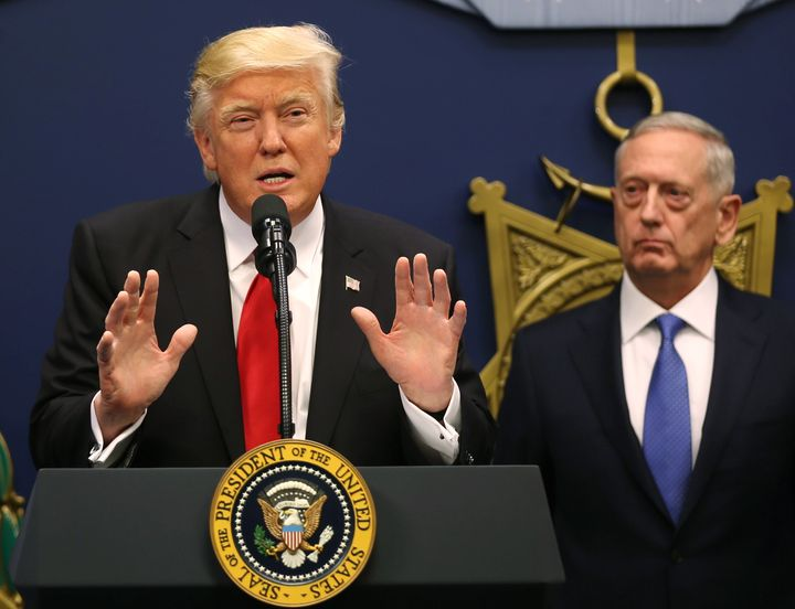 Trump Blames Generals For Raid That Killed Navy SEAL