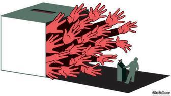Otto Dettmer Political cartoon
