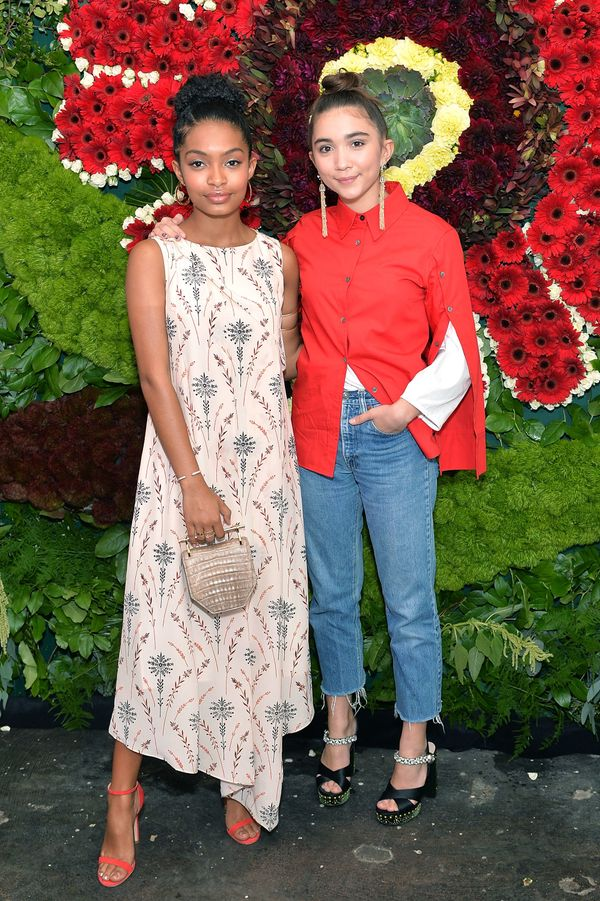 Yara Shahidi and Rowan Blanchard are two teenage Hollywood friends who (in addition to somehow dodging that awkward stage of