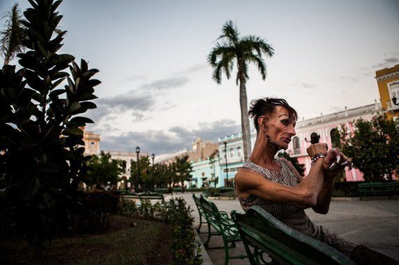 Malu, who identifies as transgender, has achieved somewhat of a celebrity status in Cuba.