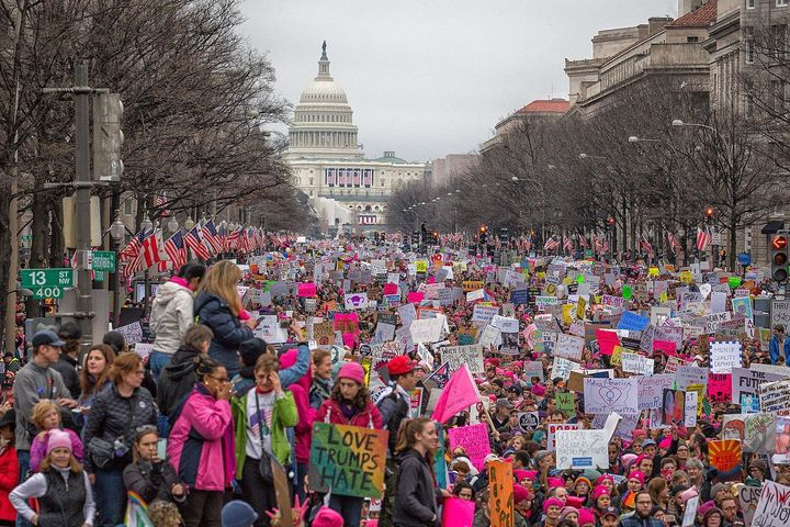 Women's March on Washington, 21 January 2017