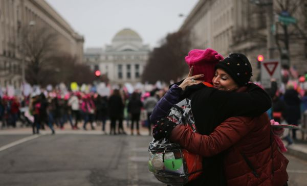 There wasn't a greater public outpouring of love and solidarity between women than at the recent Women's March rallies in Was