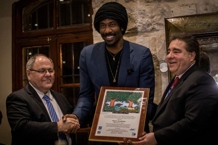 Through his foundation, Stoudemire has been proactive and in support of at-risk youth around the world and eliminating povert