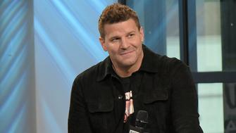 NEW YORK, NY - FEBRUARY 27:  David Boreanaz attends Build series to discuss series finale of 'Bones' at Build Studio on February 27, 2017 in New York City.  (Photo by Chance Yeh/FilmMagic)