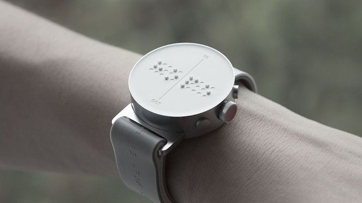 The Dot smartwatch.