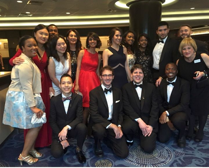 I attended the White House Correspondents' Association Dinner last year with other scholars.