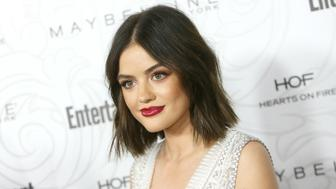 LOS ANGELES, CA - JANUARY 28:  Lucy Hale arrives at the Entertainment Weekly hosts celebration honoring nominees for The Screen Actors Guild Awards held at Chateau Marmont on January 28, 2017 in Los Angeles, California.  (Photo by Michael Tran/FilmMagic)