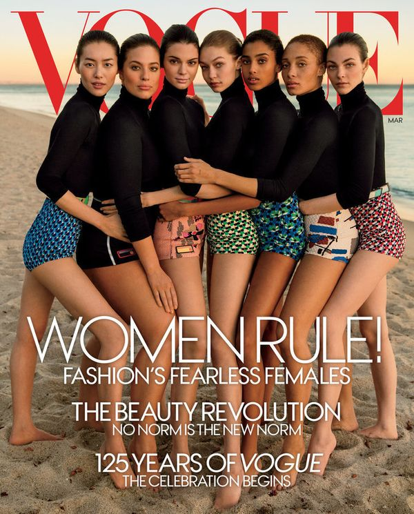 Before the March 2017 issue of Vogue, the US edition of the influential publication had never featured an Asian wom