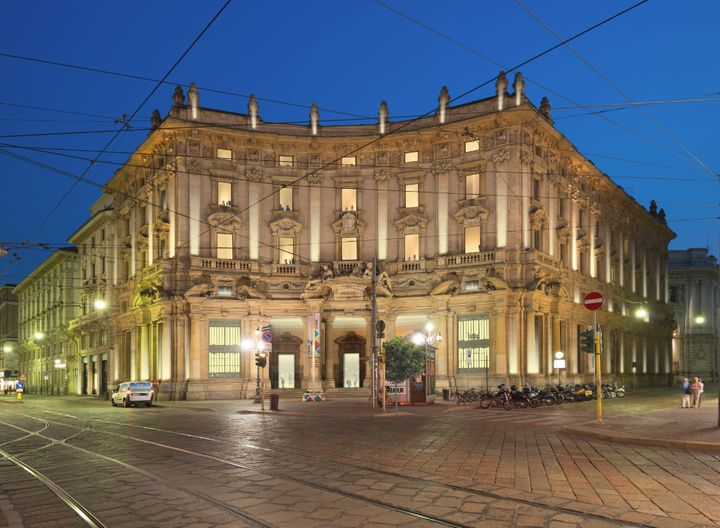 The Poste di Milano building.
