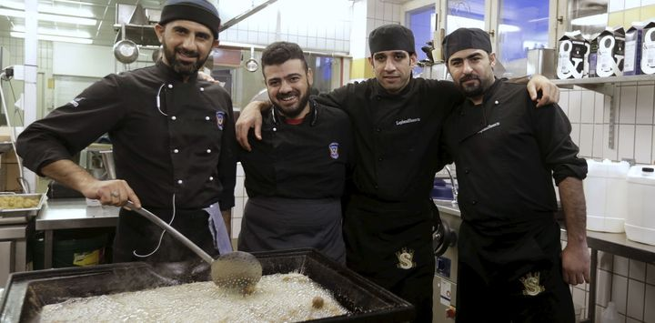 Getting asylum seekers into jobs is the number one concern for Sweden.