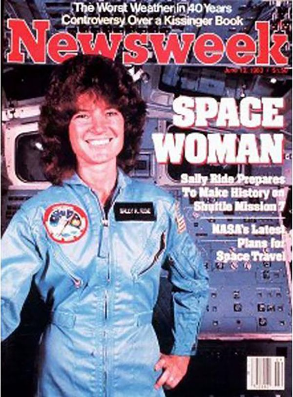 In 1983, Sally Ride made history as the first American woman to go to space, and her historic trip was commemorated with a Ne