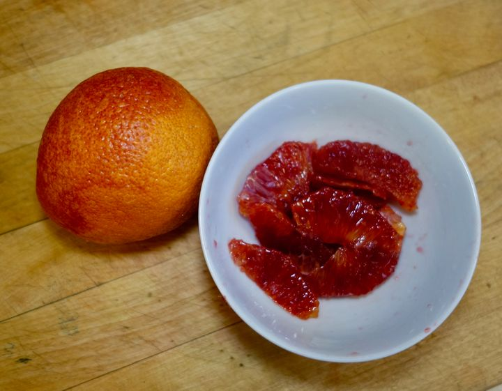 "<p>A blood orange ""filleted"" and one more for show</p>"