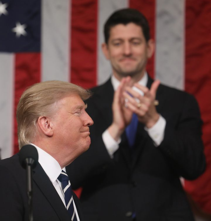 President Trump's broad promises Tuesday night might bring on a Wednesday morning headache for House Speaker Paul Ryan.