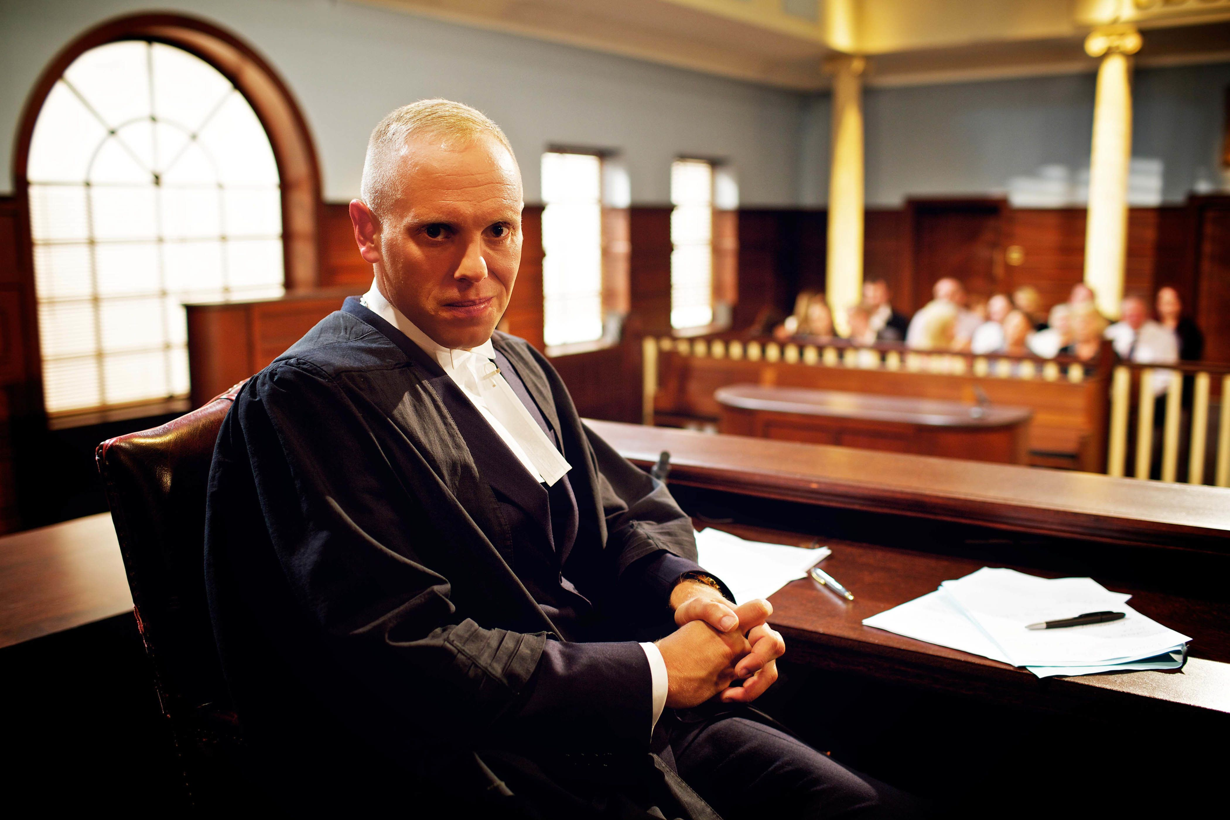Judge Rinder, aka Robert
