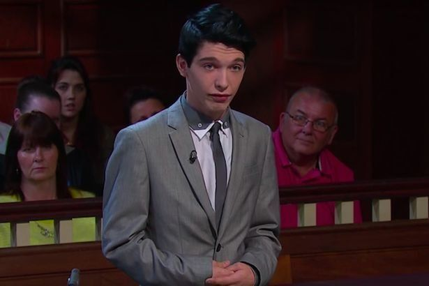 Travis Simpkins has appeared on 'Judge Rinder'