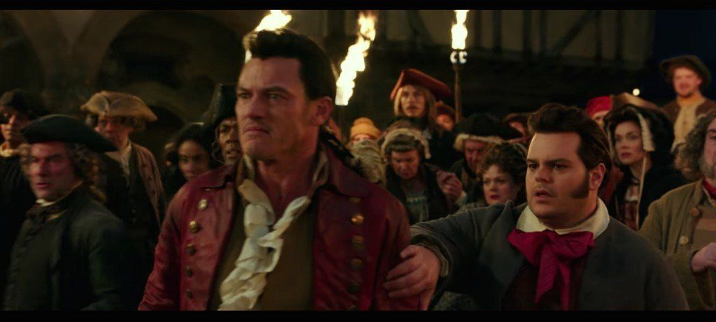 LeFou (left) will develop feelings for Gaston in the live-action version of 'Beauty And The