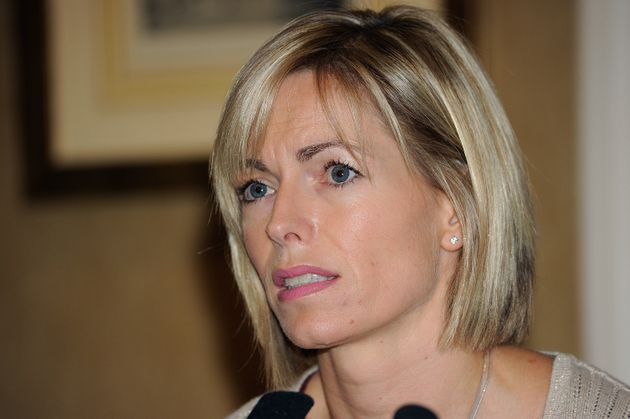 Kate McCann's daughter Madeleine (below) disappeared in