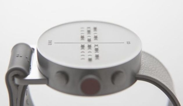 The Dot: Incredible Braille Smartwatch Lets People Feel Text