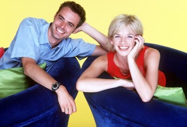 Zoe hosted the show with Jamie Theakston from 1996 to