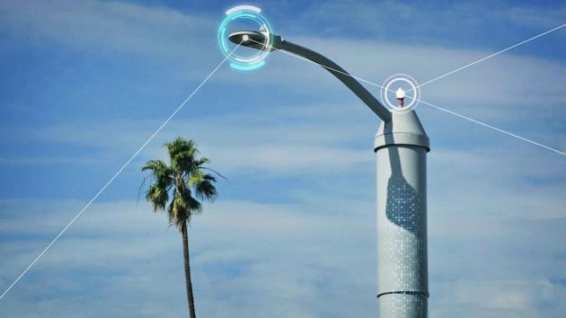 These Smart Lamp Posts Can Monitor Traffic Air Pollution