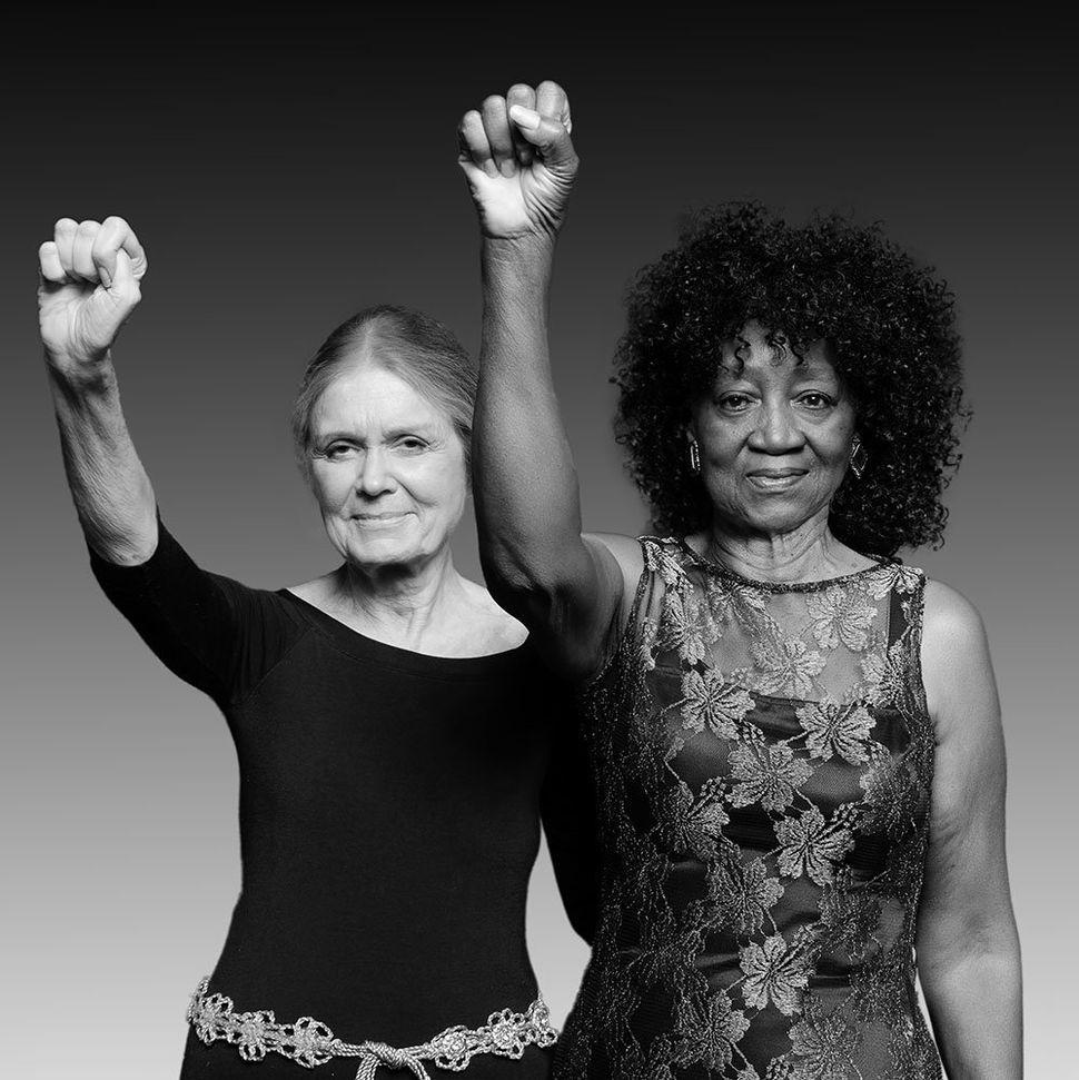 Gloria Steinem & Dorothy Pitman-Hughes' Restaging Of Iconic