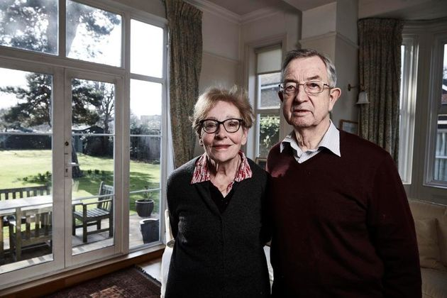 Bert and Laura Johnson were initially pleased their son Bill had found a place at St
