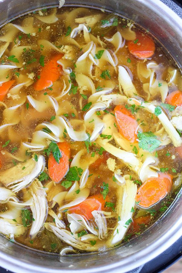 "<strong>Get the <a href=""http://www.number-2-pencil.com/2016/12/12/instant-pot-chicken-noodle-soup/"" target=""_blank"">Instant"