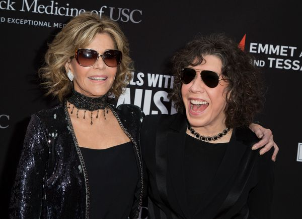 """Jane Fonda and Lily Tomlin have been longtime friends and collaborators, working together in the 1980s in movies like """"9 to 5"""
