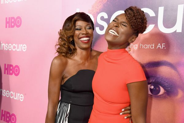 """Yvonne Orji and Issa Rae were friends long before the premiere of Rae's hit show """"Insecure"""" on HBO last year. They met <a hre"""