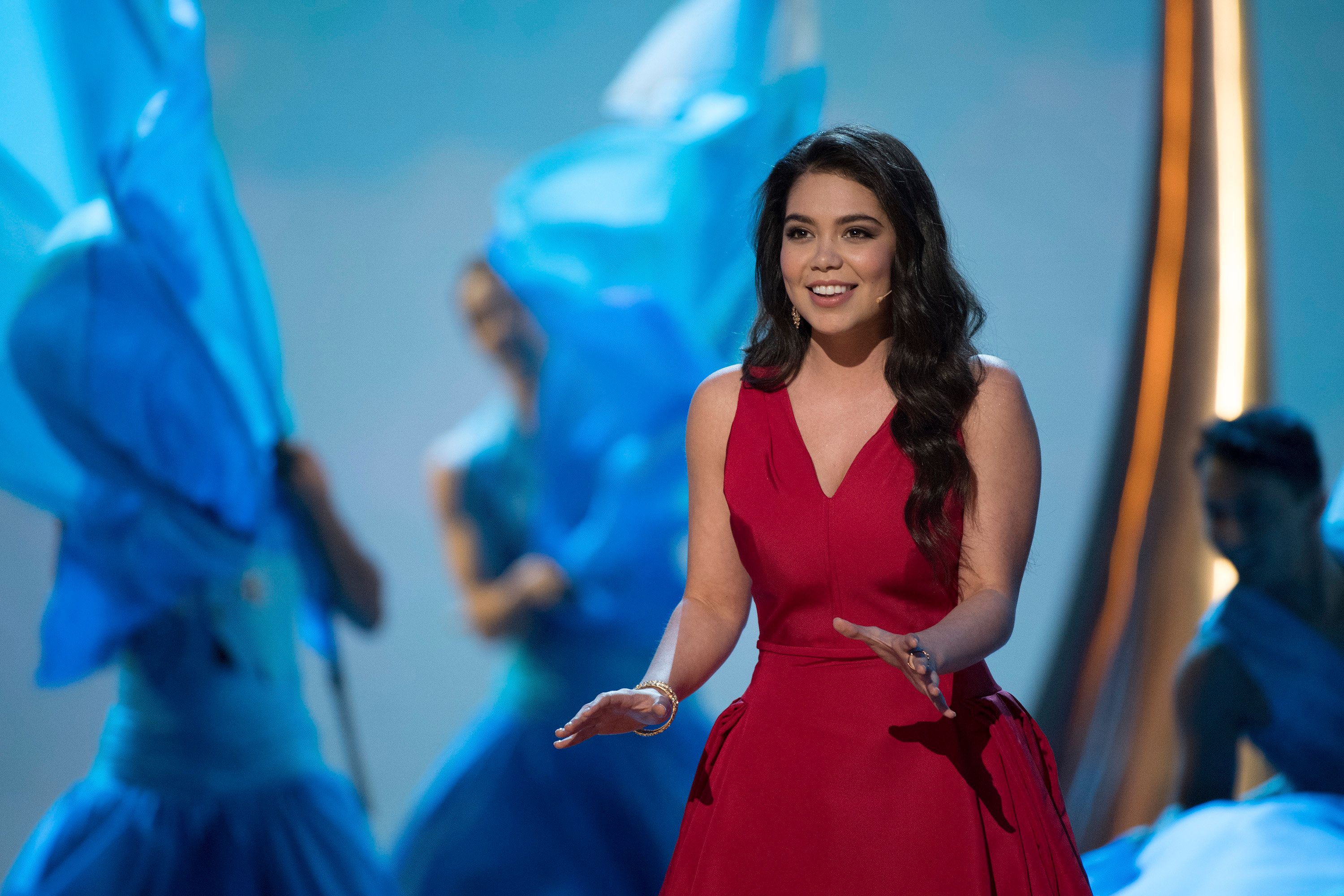 THE OSCARS(r) - The 89th Oscars(r)  broadcasts live on Oscar(r) SUNDAY, FEBRUARY 26, 2017, on the ABC Television Network. (Eddy Chen/ABC via Getty Images) AULI'I CRAVALHO